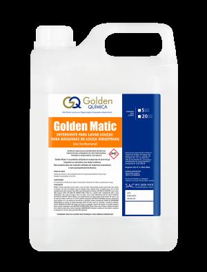 Detergente para lava-loças automáticas – Golden Matic