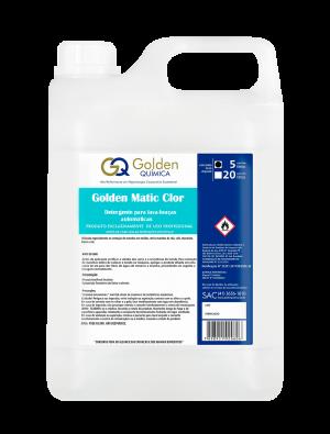Detergente para lava-louças automática – Golden Matic Clor